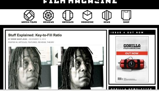 Gorilla Film Mag photo