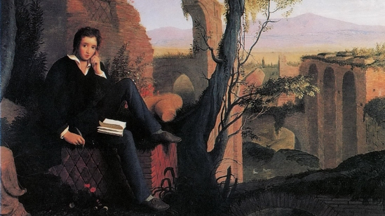 Joseph Severn's portrait of Percy Bysshe Shelley. The radical 19th century poet practiced the politics of the plate. For Shelley and other liberals of his day, keeping sugar out of tea was a political statement against slavery.